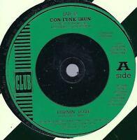 "Con Funk Shun    Burnin' Love   7"" Vinyl C/S Single"