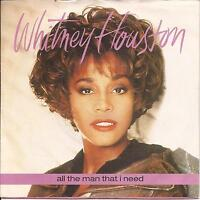 "Whitney Houston All The Man That I Need (PS) 7"" Single"