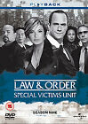 Law And Order - Special Victims Unit - Series 9 - Complete (DVD, 2009, 5-Disc Set)