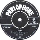 """7"""" - The Beatles - Help! / I'm Down (ORIGINAL HOLLAND PRESSING ISSUE 1965) VG+"""