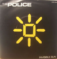 "THE POLICE ~ Invisible Sun ~ 7"" Single PS"