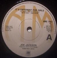 "JOE JACKSON Its Different For Girls ~ 7"" Single"