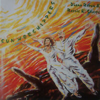 "DIANA BROWN & BARRIE K SHARPE Sun Worshippers 12"" PS"