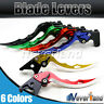CNC Blade Brake Clutch Levers for Triumph 675 Street Triple R 2008-2015