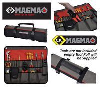 CK MAGMA TOOL STORAGE HOLDER CASE BAG ROLL - 30 Pockets & Carry Handle