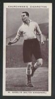 Churchman 1st Association Footballers #15 BOLTON WANDERERS H Goslin CL2