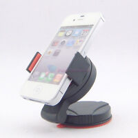 Mini 360°Car Mount Holder Cradle for iPhone 4 4s Samsung Galaxy S s3 i9300 Red