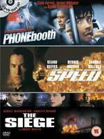 Phone Booth / The Siege / Speed (DVD, 2004, 3-Disc Set) (Box N)