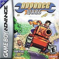 ADVANCE WARS GAME BOY ADVANCE GBA COSMETIC WEAR