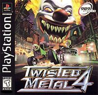 TWISTED METAL 4 PS1 PLAYSTATION 1 DISC ONLY
