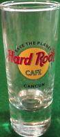 "Hard Rock Cafe CANCUN 4"" SHOT GLASS Save The Planet HRC ""STP"" Logo Cordial Mint!"