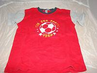 T-Shirt H&M rot Fussball Gr. 140 für Jungen