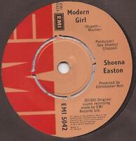 """Sheena Easton Modern Girl 7"""" Vinyl Single"""