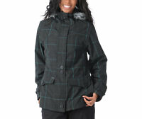 Empyre Glendale Jacket 10k Waterproof Insulated Snowboard Ski Womens Gray S