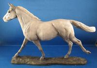 Border Fine Arts Action Horses  -  THOROUGHBRED - GREY