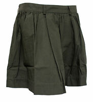 Ladies Womens Firetrap Skip Pleated Charcoal Mini Skirt