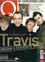 Vintage Q Music Magazine February 2000 No 161 inc Travis/Oasis etc