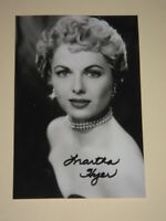 Actress MARTHA HYER Signed 4x6 Photo AUTOGRAPH 1A