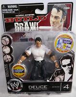 """WWE Deluxe Build n Brawl Series 4. DEUCE. New! 4"""" Wrestling Figure."""