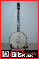 Bacon Blue Ribbon Tenor 4 String Banjo - Vintage 1922 Style A