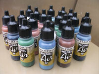 VALLEJO MODEL AIR AIRBRUSH PAINTS MIX MATCH ANY 10  x 17ml INCLUDING PRIMERS
