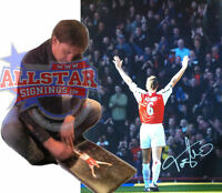 """TONY ADAMS SIGNED ARSENAL 16""""x12"""" CLASSIC PHOTOGRAPH SEE PROOF GUNNERS SOCCER"""
