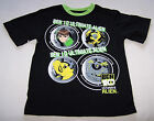 Ben 10 Ultimate Alien Boys Black Green Print T Shirt Size 6 New
