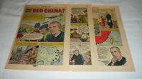 1962 five page cartoon story ~ FATHER ANDRE JOLIET ~ What About Red China?