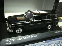 VOLVO 121 Amazon Break kombi schwarz black 1966 Minichamps NEU PMA 1:43