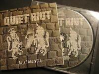 """QUIET RIOT """"ALIVE AND WELL"""" - CD"""