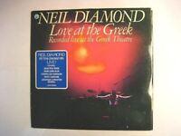 "NEIL DIAMOND ""LOVE AT THE GREEK"" - 2LP FOC"