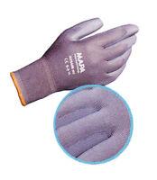 5 Paar Handschuhe, MAPA Ultrane 551 PU grau, Größe 10 - SONDERVERKAUF