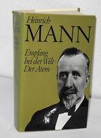 Heinrich Mann - Empfang bei der Welt - Der Atem - 2 Romane