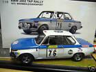 BMW 2002 Rallye TAP Warmbold Portugal 1972 #76 AA AUTOart 88247 1:18