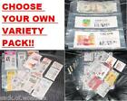 ( 10 ) Coupon binders sleeves pages VARIETY PACK - NEW!