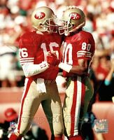 Jerry Rice & Joe Montana San Francisco 49ers 8x10 Photo - Combined Shipping