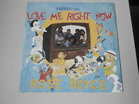 """ROSE ROYCE 7"""" vinyl record LOVE ME RIGHT NOW / INSTRUMENTAL year 1985"""