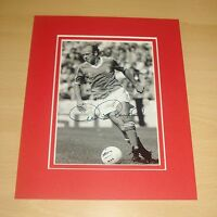 ARCHIE GEMMILL HAND SIGNED 10x8 PHOTO MOUNT DISPLAY NOTTINGHAM FOREST + COA