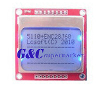 10PCS 84x48 Nokia LCD Module Blue Backlight Adapter PCB Nokia 5110 LCD Arduino