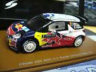CITROEN DS3 WRC 2011 Rallye Acropolis Ogier Winner #2 R Bull Spark Resin 1:43