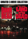 DAWN OF THE DEAD & LAND OF THE DEAD UNRATED  2-DISC DVD SET!!!   fl