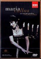 DVD Maria CALLAS Live at Covent Garden 1962 1964 Tosca Carmen Puccini Bizet NEU