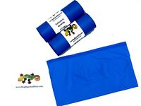 """500 Dog Poop Bags on 2 Rolls 3/4mil Thick Biodegradable Waste Bag 8"""" X 14"""" #10a"""