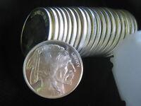 1 oz Silver Bullion Buffalo Indian Round One Troy ounce .999 fine pure mint coin