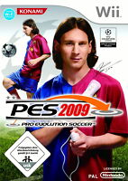 Pro Evolution Soccer 2009 (Nintendo Wii, 2009 TOP MIT  anleitung