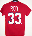 OLD TIME HOCKEY NHL MONTREAL CANADIENS ROY #33 T-SHIRT BRAND NEW