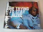 WYCLEF JEAN FEATURING REFUGEE ALLSTARS CD single WE TRYING TO STAY ALIVE