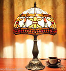 New European Multi-colored Glass Height 49cm Decorative Bedside Table Lamp