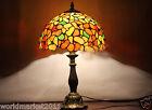 European Multicolour Glass+Resin Width30CM Height 49CM Decoration Table Lamp