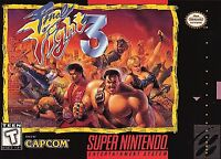 FINAL FIGHT 3 SNES SUPER NINTENDO GAME COSMETIC WEAR